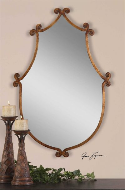 Ablenay Mirror - Staged