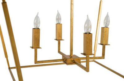 Adler Chandelier - bulb detail