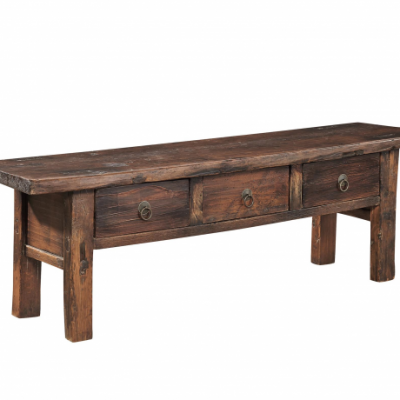 Antique Coffee Bench