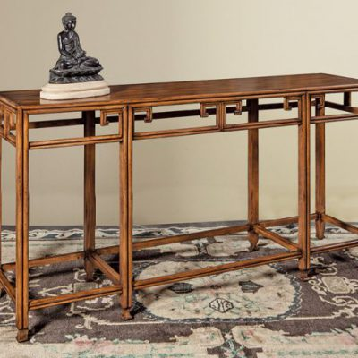 Asian Inspired Console Table