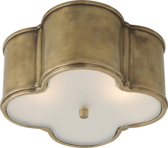 Basil Small Flush Mount Light Fixture