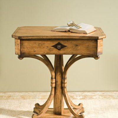 Biedermeier Table in Knotty Pecan