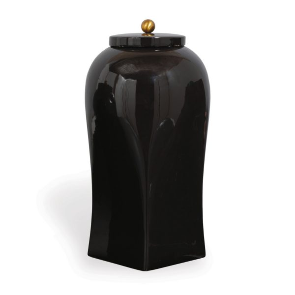 Boulevard Black Large Jar