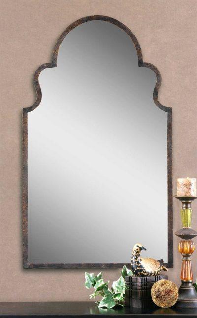 Brayden Arch Mirror - Staged