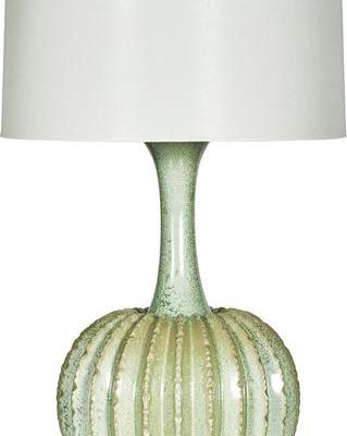 Celedon Urchin Lamp