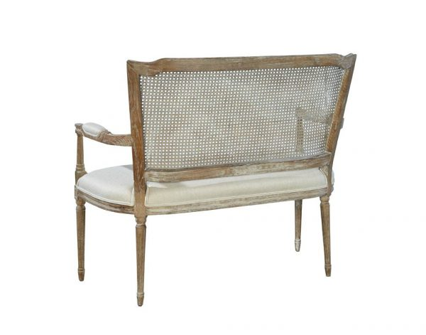 Channing Settee - Back View