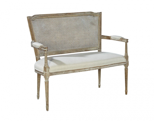 Channing Settee - Front View