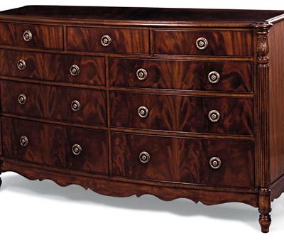 Crotch Mahogany Dresser