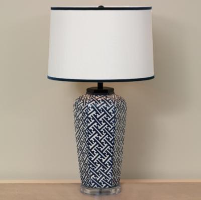 Geo Lamp - Staged