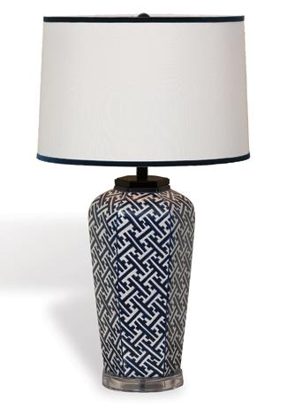 Geo Lamp - Geometric Pattern
