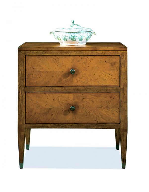 Italian Flush Top Cherry Chest