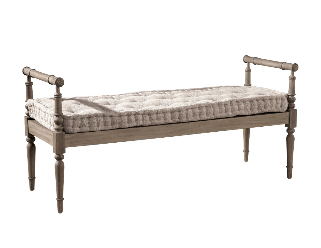 Mark's Tufted Bench