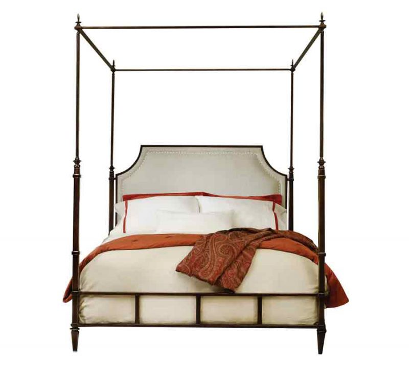 Metal Bed - Low Profile Canopy