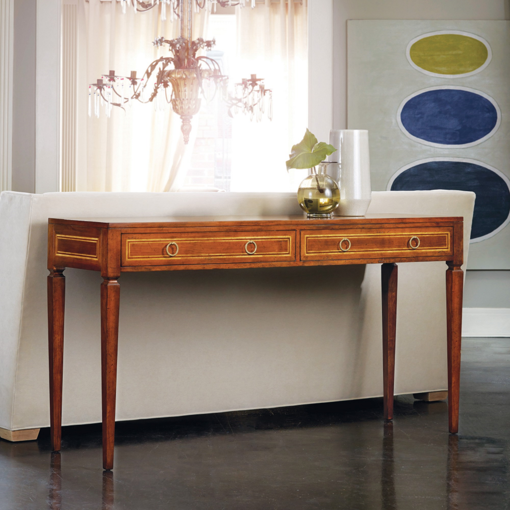 MIlan Console Table - Staged