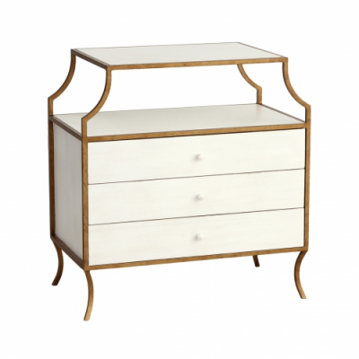 Milla Side Table with Drawers