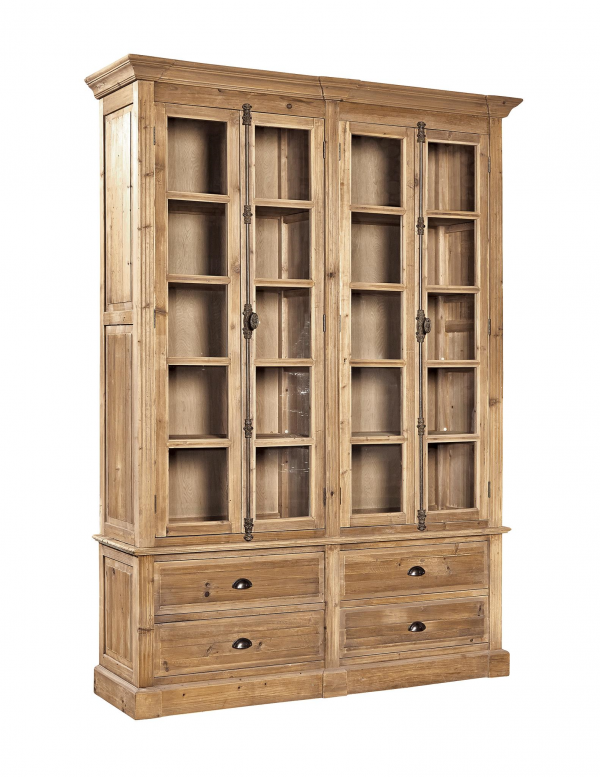 Natural Old Pine Bookcase