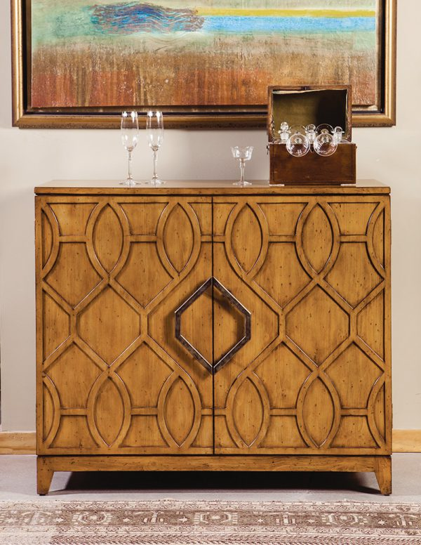 Pine French Cabinet with Fret