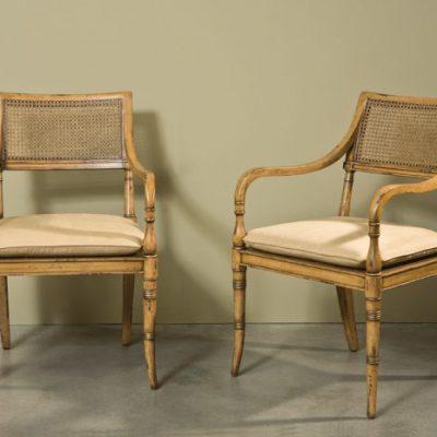 Regency Arm Chair, Villa Mahogany