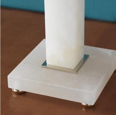 Rialto Alabaster Lamp - Vase View