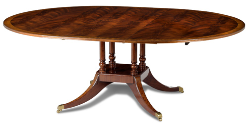 Round-Oval Dining Table