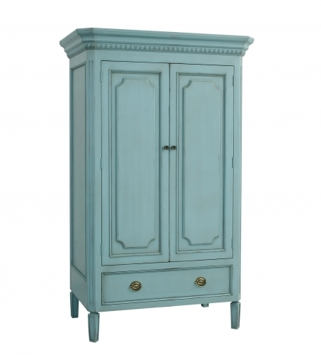 Swedish Armoire - Teal