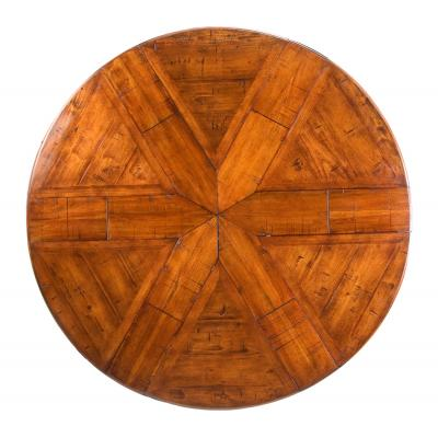 Walnut Jupe Dining Table Medium - Top View
