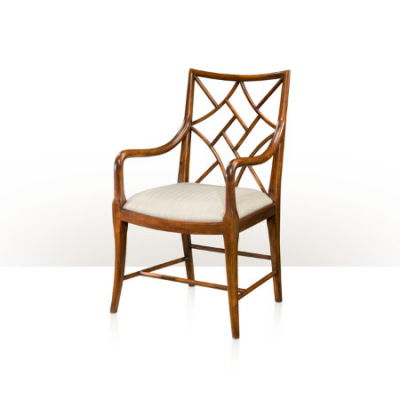A Delicate Trellis Armchair