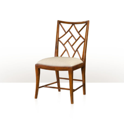 A Delicate Trellis Chair