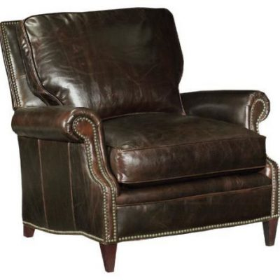 Dark Leather Chair