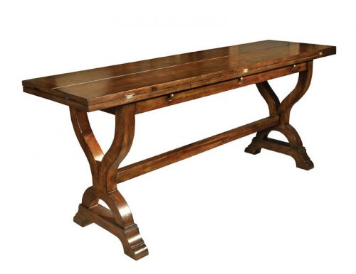 Flip Top Trestle Table