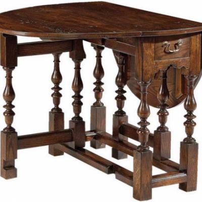 Gateleg Chairside Table