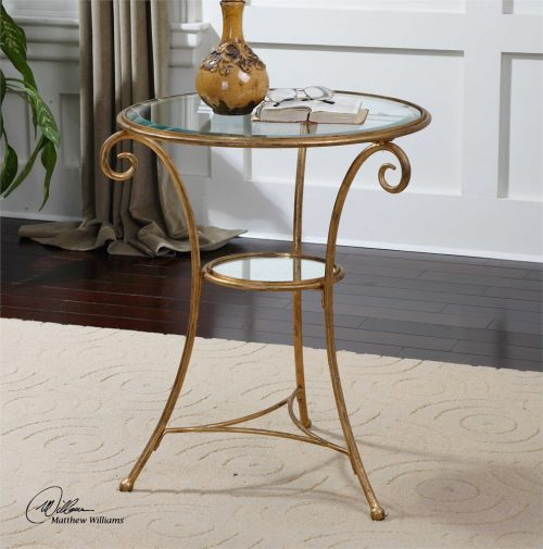 Maia Accent Table - staged