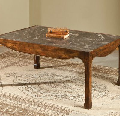 Marble Oriental Cocktail Table