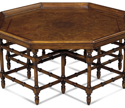 Octagon Cocktail Table