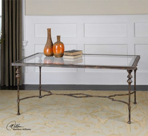Quillon Coffee Table - Staged