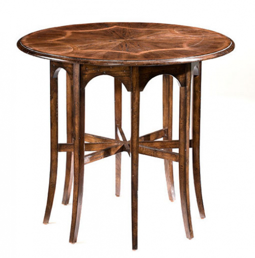 Round Gothic-Arch Side table