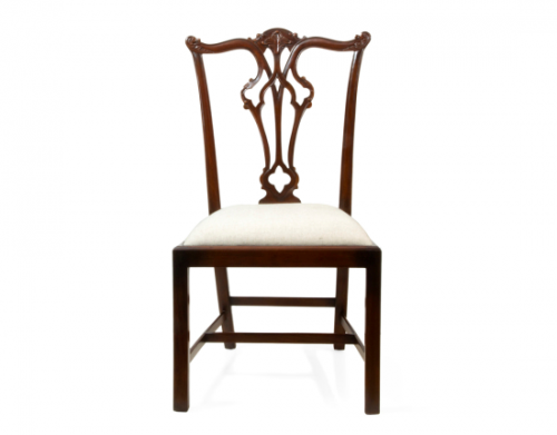 Side Chair - Wood Finish