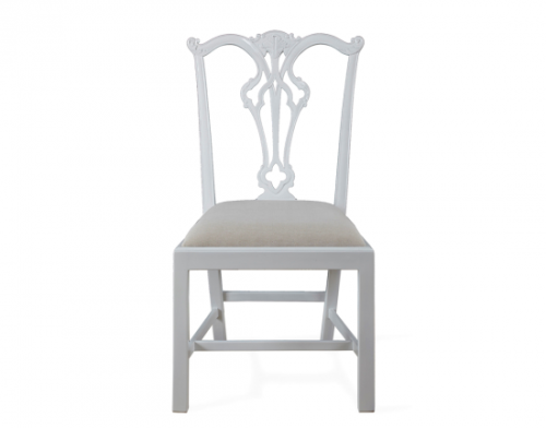 Side Chair in White