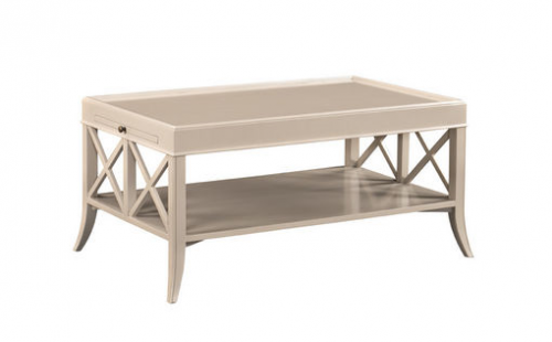 X-End Cocktail Table