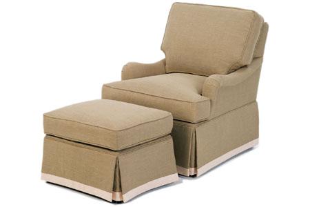 Chesapeake Chair & Ottoman