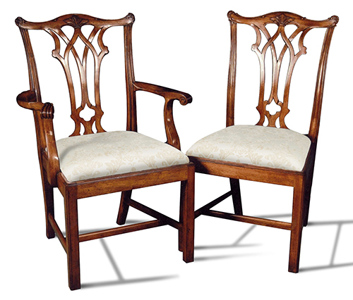 Chippendale Dining Side Chairs
