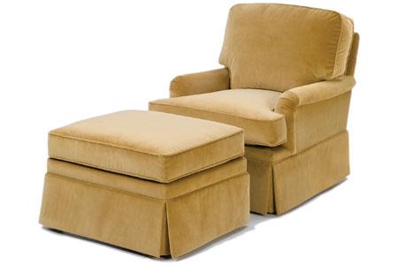 Dalton Chair and Ottoman