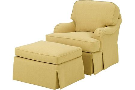 Moinca Chair and Ottoman