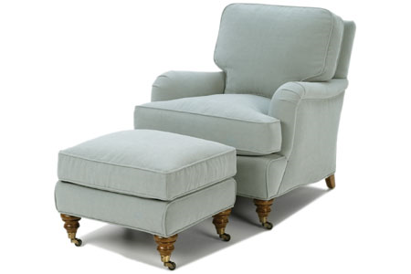 Reagan Chair and Ottoman