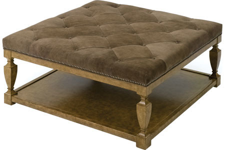 Spencer Ottoman with other upholstery