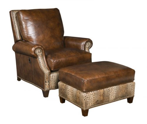 Vari-Tilt Chair and Ottoman