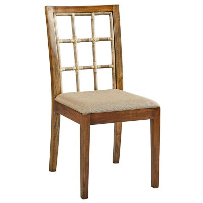 Bamboo Window Pane Side Chair