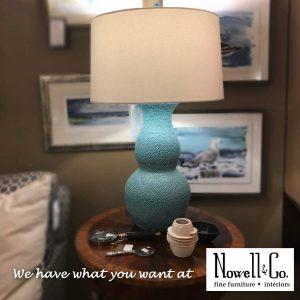 Lamp and artwork