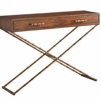 Anubis Cross Leg Console Table