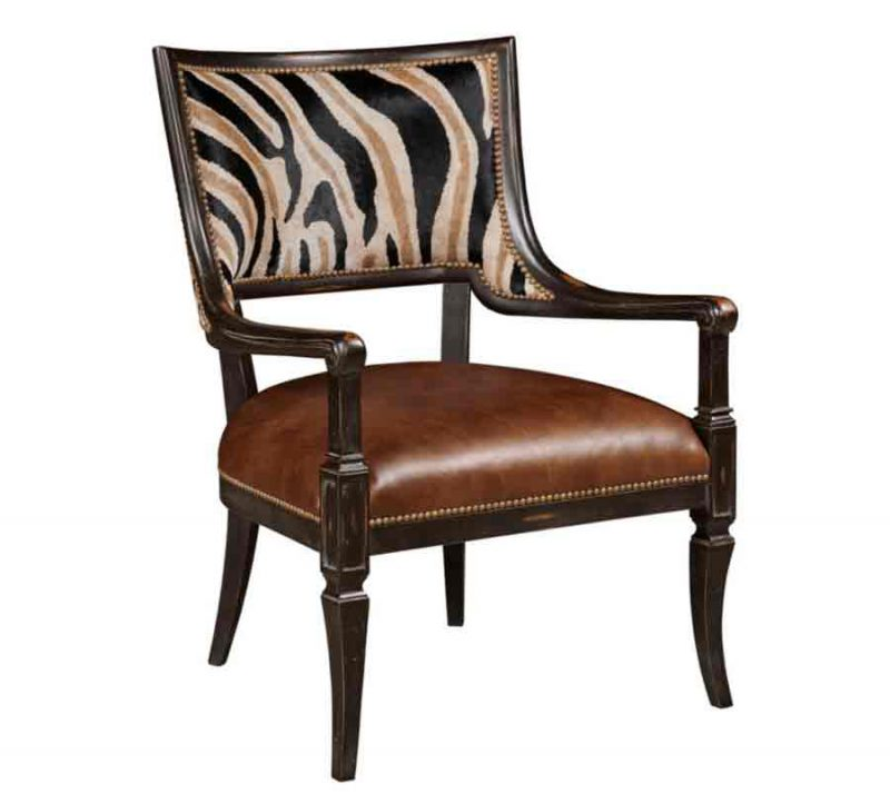 Bellini Accent Chair Animal Pattern